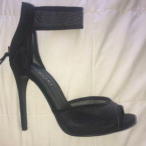 Nasty gal mesh heels